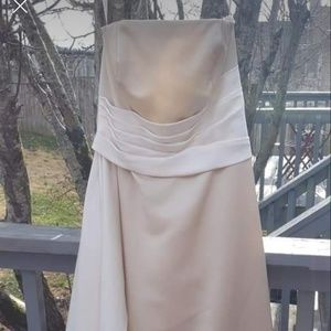 Champagne Bridesmaid's Dress